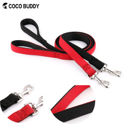 Cheap price high quality nylon pet dog leash dog lead soft padded yiwu pet products