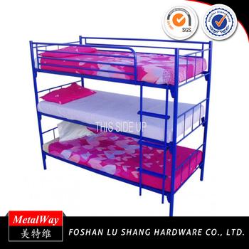 China Wholesale Folding Three Person Bunk Beds Buy Folding Three