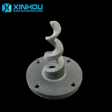 Silicone Carbide Metal Hollow Cone Spiral Spray Nozzle
