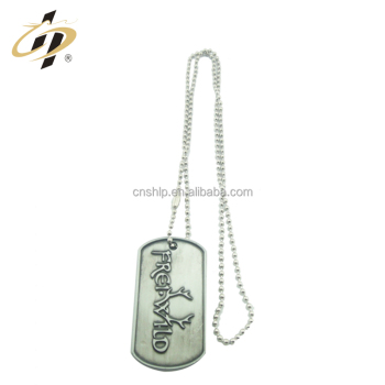 Free sample zinc alloy enamel paint metal custom keychain 2d silicone dog tag necklace