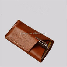 Custom Cell Phone Pouch Manufacturer Wholesale New Arrival Leather Case for Iphone6