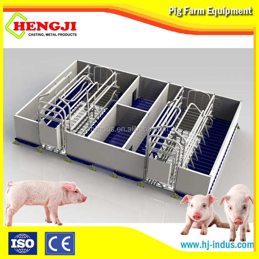 Pig farming equipment farrowing crate for sale