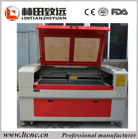 CE,FDA certification plastics foam laser engraving cutting machine