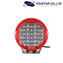 Waterproof ip68 led driving light 185 watt spot flood beam led work light 9inch