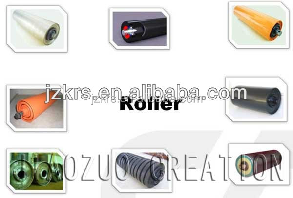 from china impact roller & idler easy assembly in conveyor