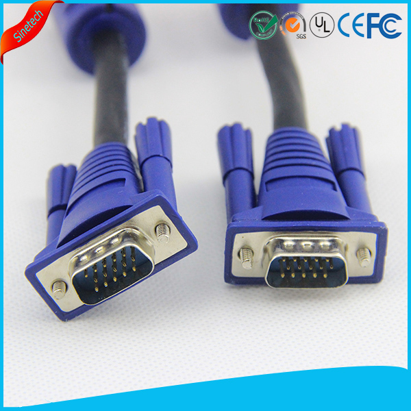 1m VGA DB15 Cable PC to TFT Monitor LCD TV Lead 3ft