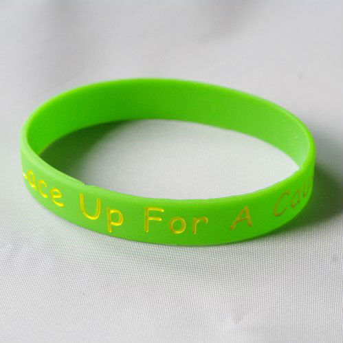 Wrist bands silicone rubber wholesale