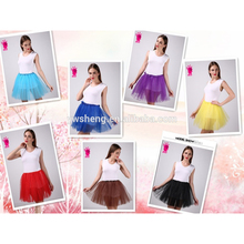 Wholesale adult ballet tutu girls tutu skirts fashion design short party skirts young girl skirt