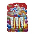 Dollar items amazing plastic balloon glue, blow bubble toy