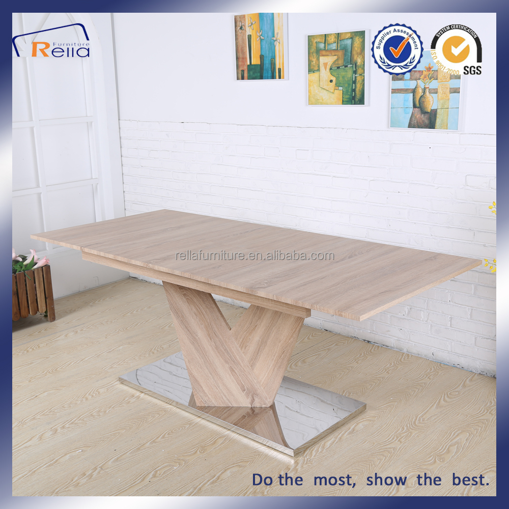 Extended MDF dining table