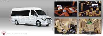 Mercedes Benz 324 Vip Sprinter Business Van