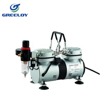 Germany quality/250W Mini oilless portable air compressor for laboratory