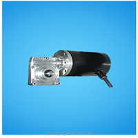 DC geared motor for submerged pump