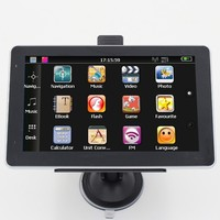 "7"" hd 800*480 car truck Gps navigation navigator Windows ce 6.0 FM 8GB"