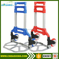 Hand luggage carts 2016 aluminum airport shopping trolley