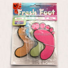 Toe shaped room air freshener 3packs