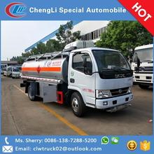 Dongfeng 5000 liters small capacity fuel tank truck for sale