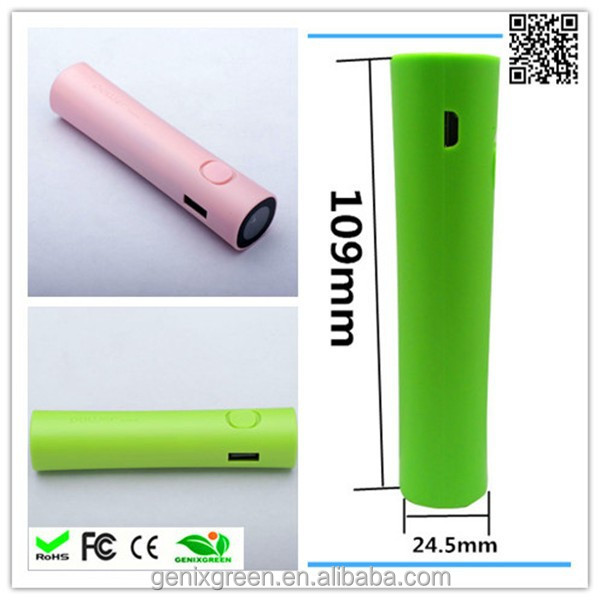 Universal 2600mAh Power Bank External Backup Battery Emergency Travel Charger for Mobile Phone