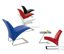 Fashionable V shape rocking Rolf benz chair for living room