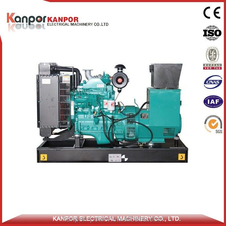 Great engine powered open type generator 280KW 350 kva manufacturers