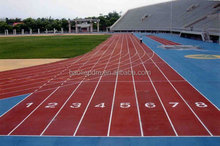 Artificial Sport surfaces/Rubber Sport Flooring for sandwich system/Sport Court for Athletic Running track