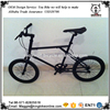 Mini fixed gear bicycle matte black mini fixie bike