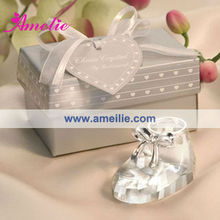 ACF23 Wholesale Crystal Shoes New Baby Born Gift