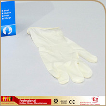 medical non sterile examination latex gloves custom printed