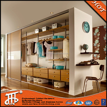 Hot sale detachable wooden wardrobe with mirror Mirrored Wardrobe Bedroom furniture bedroom mirrored wardrobe