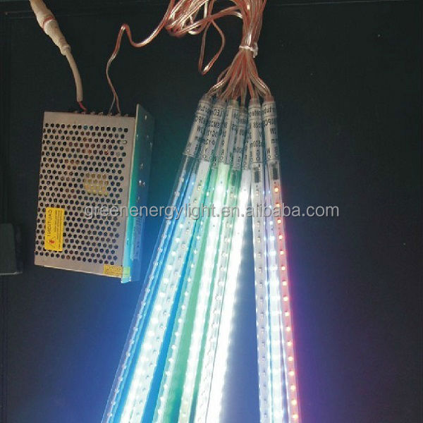 30CM 50CM 80CM Snow Rain Christmas LED Meteor Shower Light