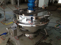 Industrial stainless steel fruit jam maker/making machine
