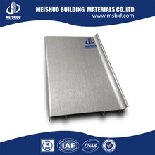Concrete building aluminum materials durable baseboard skirting board covers