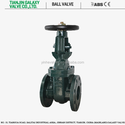 "Large Size Flanged Gate Valve 10"" Direct Buried Cast Iron Gate Valve"