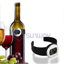 Smart Temperature Reader Wholesale with LCD Screen Wine Thermometer for Club and Wine Cellar