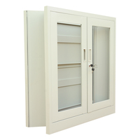 glass door small storage file folding metal cabinet