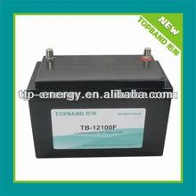12V 100Ah high deep cycles inverter battery for 12V to 220V inverters/UPS with best price