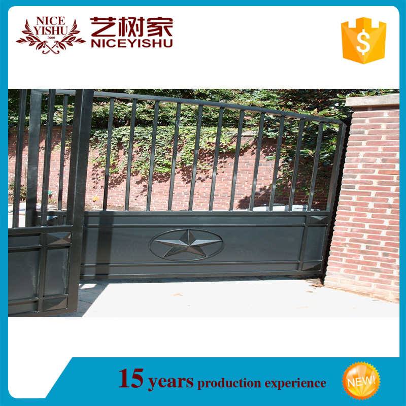Steel Construction Building Material Iron House Main Gate Designs Automatic  Aluminum Garage Door Handle, View House Main Gate Designs, YISHUJIA Product  ...