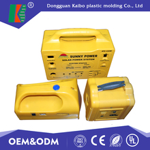 Dongguan custom plastic car battery case injection mold with cover