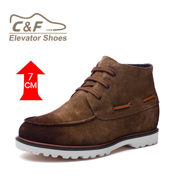 Brand New Wholesale Genuine Leather Handmade Platform Sneaker Shoes For Men