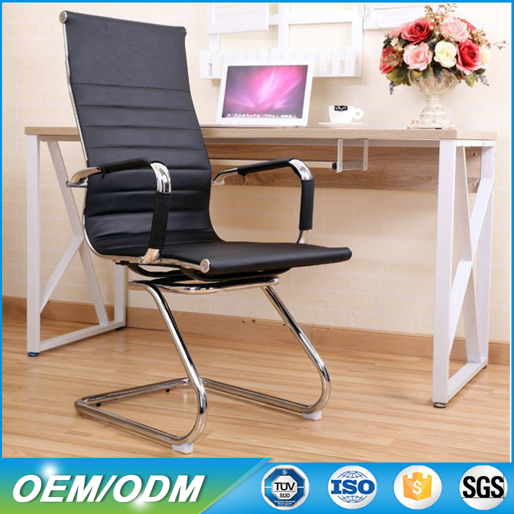 Mesh/PU Leather Cheap Worker Office Chair in White