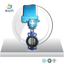 Functional electric actuator motorized small butterfly valve