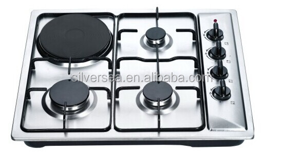 buil-in 4 burner stainless steel wood stove turkey /mini gas cooker/cooktop cover