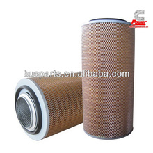 capacity:850-1800m3/h Assembly Diesel Engine air filter AF25268 FOR Higer, Yutong Bus, KingLong WITH HIGH QUALITY