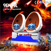 Cool funny 9d machine 360 degree 9d movie cinema 2 seats 9d vr game machine 9d egg vr xd cinema