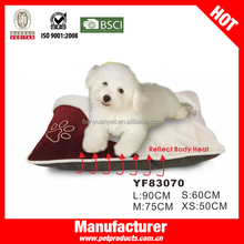 Raised paw shape cheap pet bed for dogs
