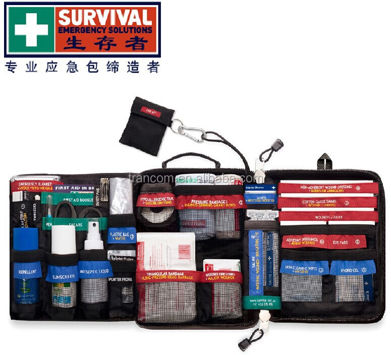 SES02 TRAVELLER first aid kit Survival Emergency military first aid kit