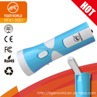 shenzhen port promotion gift rechargeable torch flashlight