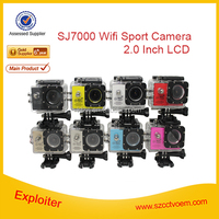 Hot selling WiFi Action Camera SJ7000 1080P Full HD Helmet DV Camcorder 30M Waterproof Diving Sport Camera