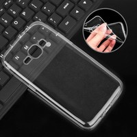 China Supplier transparent soft TPU cell phone case for Samsung Galaxy J1 (2016)