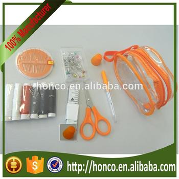 Hot Sewing kit in pvc bag